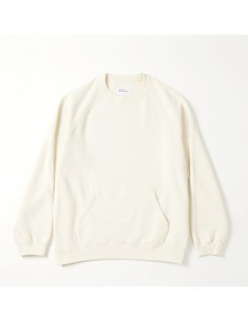 raglan sleeve sweat (IVY)