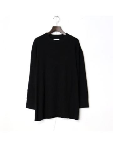 long sleeve tereko t-shirt (BK)
