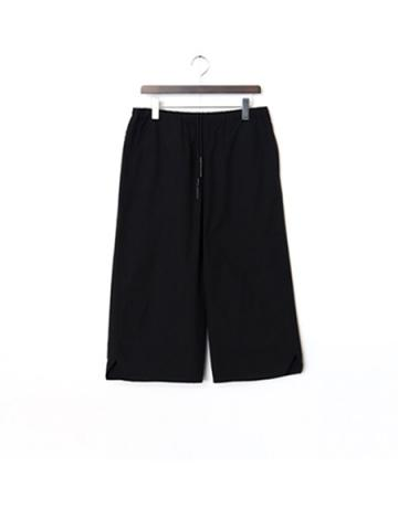 nylon cotton pants (BK)