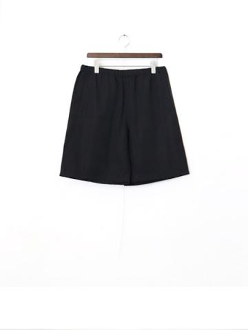 nylon short pants (BK)