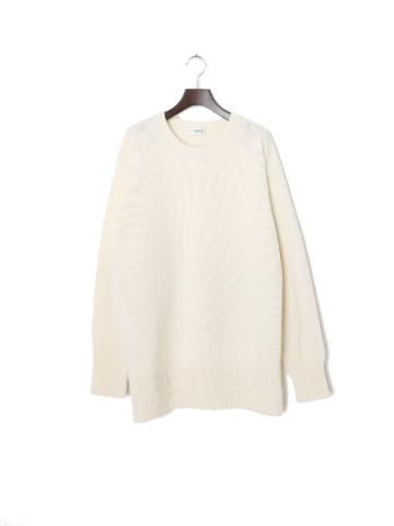 Asymmetry knit (WHT)