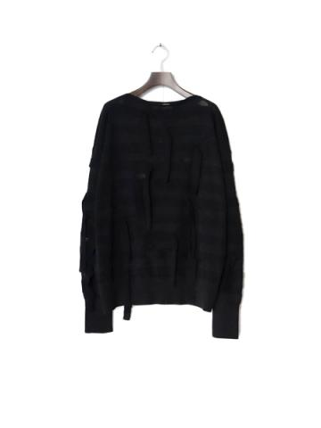 Break knit (BLK)