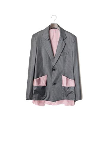 Cut off short jacket (GRY)