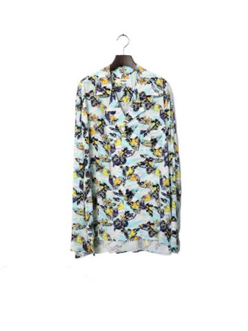 Long sleeve ALOHA shirt (SAX)