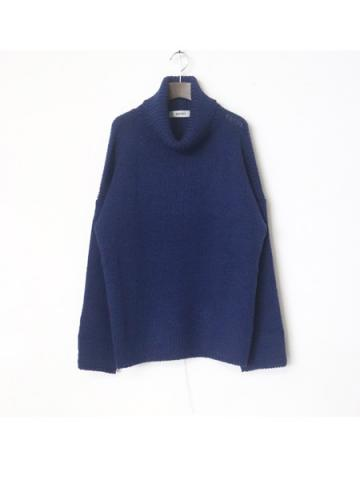 big high neck knit (BLU)