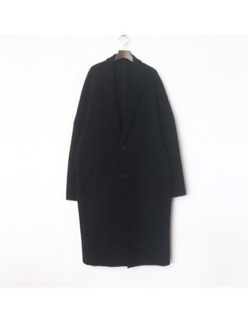 hitoe over coat (BLK)