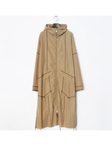 zip up rain coat (BEG)