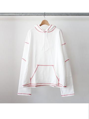 SYU. Fake staff Hoody (WHT)