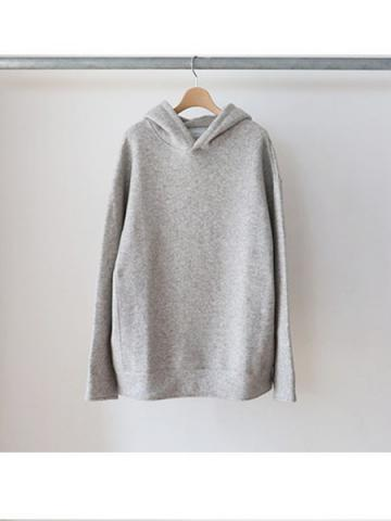 w-face hoodie knit (GRY)