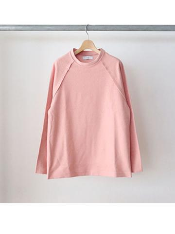 raglan sleeve sweat (PNK)