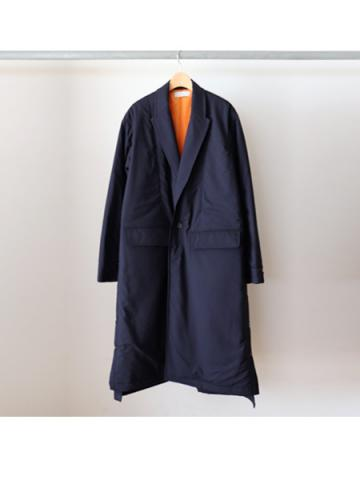 padded gown coat (NVY)