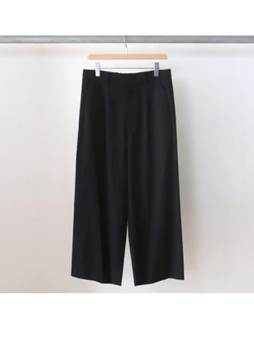 straight easy slacks (BLK)