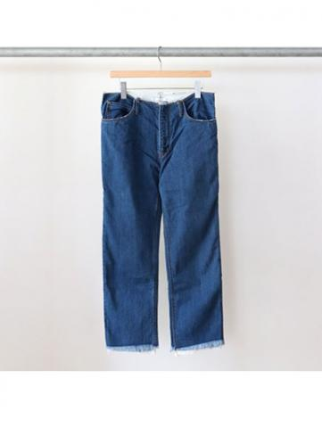 W-face denim