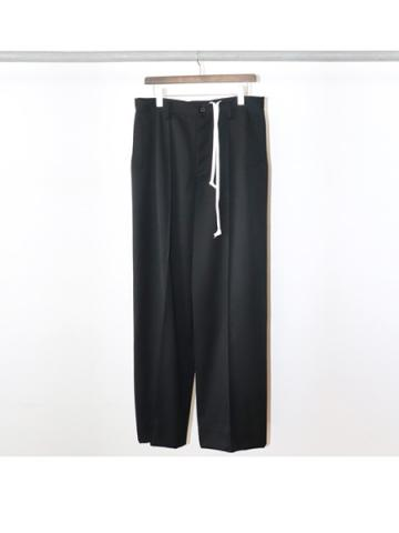 high waist wide / pants (BLK)