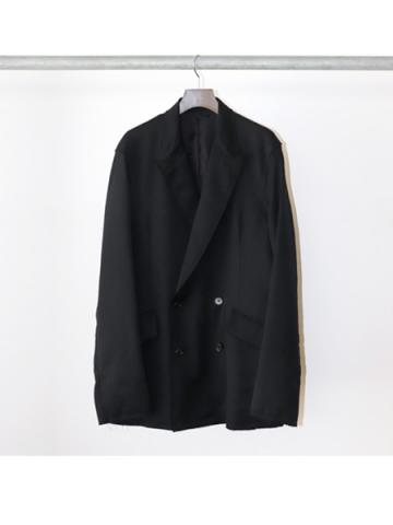 Cut up double / Jacket (BLK)