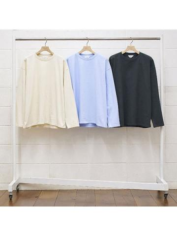 long sleeve slit t-shirt