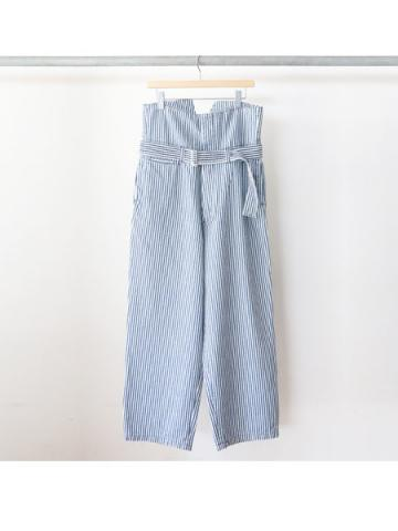 high waist hickory pants