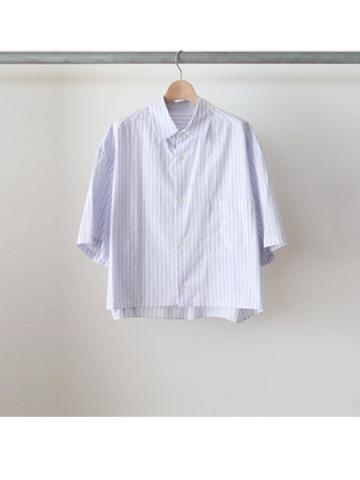cotton stripe S/S shirts